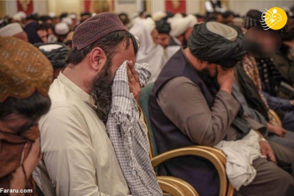 عکس/ سوگواری طالبان برای نیروهای کشته شده انتحاری!