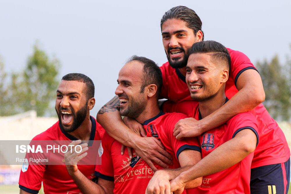 پیروزی نساجی مازندران در هفته اول لیگ برتر فوتبال