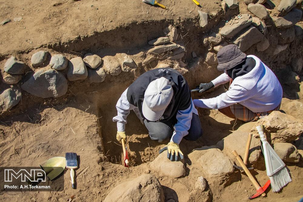 نخستین دست یافته باستان شناسان در آسیاب آبی همدان