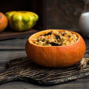 پخت «کدو حلوایی شکم پر» پاییزی با ترفند های جالب