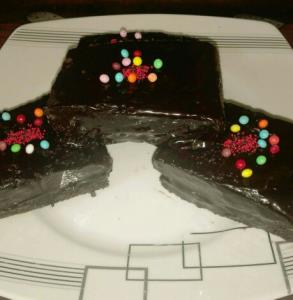 از شما/کیک دبل چاکلت من