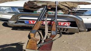 دستگیری متخلفان شکار پرندگان وحشی در رابر