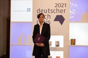 اعلام برنده جایزه کتاب سال آلمان در نمایشگاه کتاب فرانکفورت