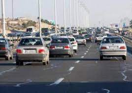 ترافیک نیمه سنگین در آزادراه کرج ـ قزوین