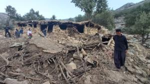 آواربرداری در مناطق زلزلهزده اندیکا آغاز شد
