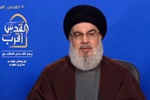 تحلیل رسانههای صهیونیستی از سخنرانی دبیرکل حزبالله