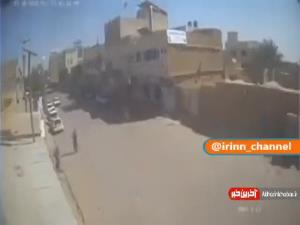فیلم منتشر شده از لحظه انفجار مسجد حضرت فاطمه سلاماللهعلیها قندهار در جمعه گذشته