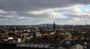 پایتخت ایرلند در خاموشی فرو رفت