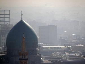 هوای کلانشهر مشهد آلوده شد
