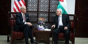 محمود عباس دست به دامان بایدن شد