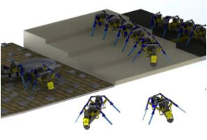 رباتهایی که مثل مورچهها کار گروهی میکنند