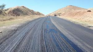 جاده اندیکا-مسجدسلیمان بازسازی و ترمیم شد
