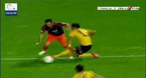 اولین پنالتی از دست رفته لیگ برتر