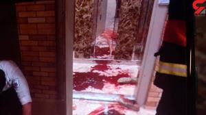 قتل با بریدن شاهرگ در گلستان