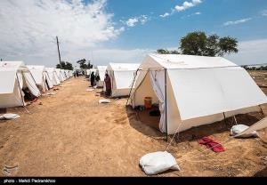 اسکان اضطراری زلزلهزدگان در کوهرنگ به ۱۶۰ خانوار رسید