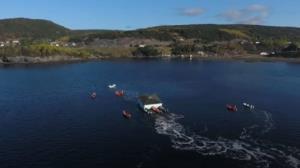 ویدئوی جالب جابجایی خانه به مکان جدید با قایق