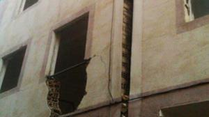 خطر ریزش تعدادی واحد مسکونی در حصارک کرج را تهدید میکند