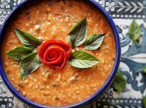 طبخ «آش آبغوره» محلی به روش تبریزی ها