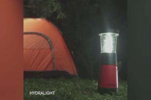 ویدئویی از لامپی که با آب شور روشن میشود!