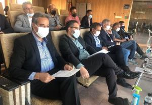 حضور مهدویکیا و ۲ ملیپوش سابق فوتبال ایران در ورزشگاه