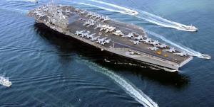 «ناو هواپیمابر رونالد ریگان» خلیج فارس را ترک کرد