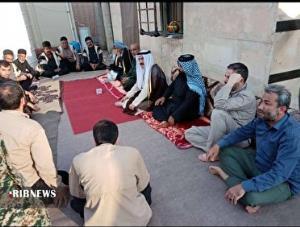 عکس/ پیوند برادری و اتحاد عشایر عرب خوزستان و زلزلهزدگان اندیکا