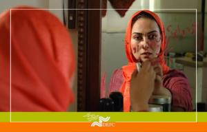 آناهیتا نعمتی در نقش زن سرخپوش میدان فردوسی