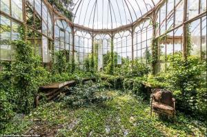 4 گوشه دنیا/ بناهای فریبندهای که طبیعت آنها را به تملک خود درآورده است