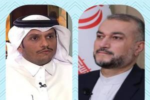 گفتگوی «امیرعبداللهیان» با همتای قطری