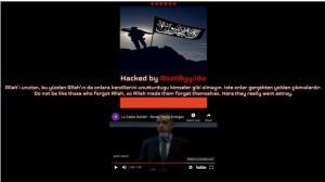 هکرهای ترکیه وب سایت ترامپ را مخدوش کردند
