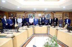 دیدار مدالآوران کشتی با وزیر راه و شهرسازی/ موافقت رییسجمهور با تجلیل شایسته از کشتیگیران