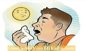 چرا نور شدید باعث عطسه میشود؟