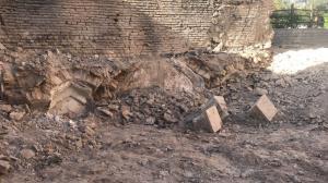 کشف حمام تاریخی در بافت تاریخیفرهنگی شهر شیراز