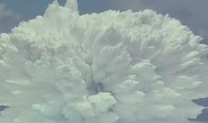 انفجار اتمی در زیر آب اقیانوس!