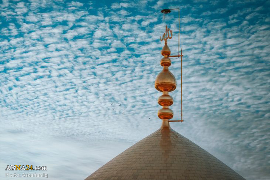 حال و هوای حرم امامین عسکریین(ع) در شهر سامراء