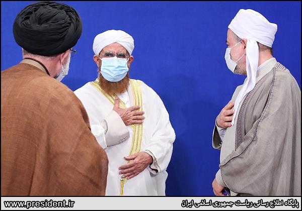 عکس/ خوش و بش میهمانان در کنفرانس وحدت اسلامی