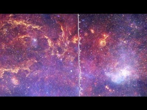 تا به حال صدای کهکشان را شنیدهاید؟