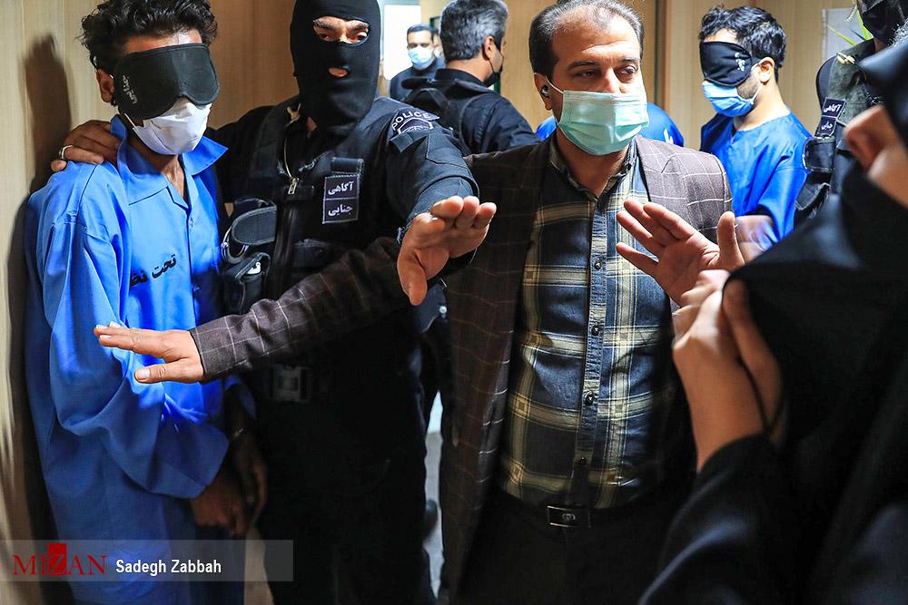 عکس/ دستگیری باند تبهکار مسلح در مشهد