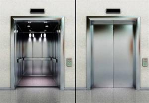 سقوط ناگهانی در آسانسور!