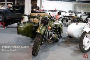 موتورسیکلت ب.ام.و R75 ارتش آلمان در ایران