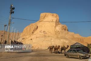 قلعه دختر کرمانیها زیر هجوم ساختوساز