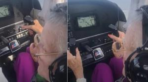 خلبانی زن ۸۴ ساله همه را شگفت زده کرد