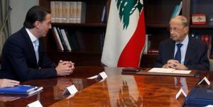 دیدار میانجی مذاکرات ترسیم مرزی با سران مختلف لبنان