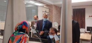 بازدید سرزده امیرعبداللهیان از اداره تایید اسناد و میز خدمت کنسولی وزارت خارجه