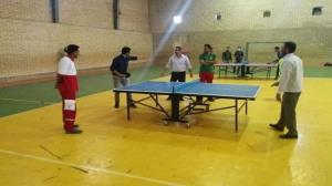 برگزاری مسابقات دارت و تنیس روی میز در سیروان