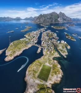 خوش منظرهترین زمین فوتبال دنیا