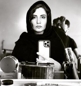 چهرهها/ سلفی آینه ای سمیرا حسن پور