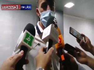 آرش رضاوند: امیدوارم پیروزیهایمان ادامهدار باشد