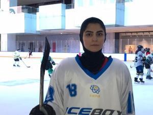 اعظم سنایی: هاکی روی یخ به شدت در ایران متقاضی دارد