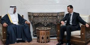 تماس تلفنی ولیعهد ابوظبی و بشار اسد